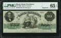 Providence, RI- Bank of America $10 18__ Remainder G18a PMG Gem Uncirculated 65 EPQ