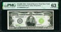 Small Size:Federal Reserve Notes, Fr. 2231-B $10,000 1934 Federal Reserve Note. PMG Choice Uncirculated 63.. ...