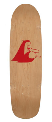 Barry McGee (b. 1966) Untitled, 2015 Screenprint in color on skate deck 31 x 9 inches (78.7 x 22