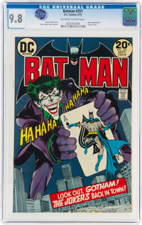 Batman #251 (DC, 1973) CGC NM/MT 9.8 Off-white to white pages