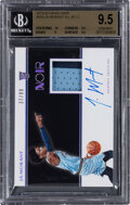 Basketball Cards:Singles (1980-Now), 2019 Panini Noir Ja Morant Autograph Jersey #354 BGS Gem Mint 9.5, Auto 10 - Serial Numbered 37/99....