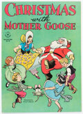Golden Age (1938-1955):Cartoon Character, Four Color #90 Christmas with Mother Goose (Dell, 1945) Condition: VF+....