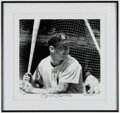 Autographs:Photos, Mickey Mantle Signed Oversized Photograph....