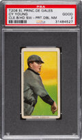 Baseball Cards:Singles (Pre-1930), 1909-11 T206 El Principe De Gales Cy Young (Bare Hand Shows) with Name-Team at Top & Bottom PSA Good 2. ...