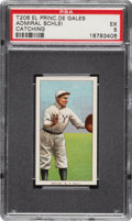 Baseball Cards:Singles (Pre-1930), 1909-11 T206 El Principe De Gales Admiral Schlei (Catching) PSA EX 5 - None Higher for Brand. ...