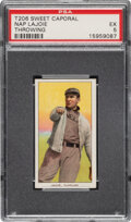 Baseball Cards:Singles (Pre-1930), 1909-11 T206 Sweet Caporal 150/25 Napoleon Lajoie (Throwing) PSA EX 5 - Pop One, One Higher for Brand/Series. ...