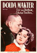 """Movie Posters:Foreign, Marthe Richard (Anglo Film, 1937). Folded, Very Fine+. Swedish One Sheet (27.5"""" X 39.25"""") Eric Rohman Artwork.. ..."""