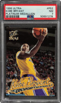 Basketball Cards:Singles (1980-Now), 1996 Ultra Kobe Bryant (Platinum Medallion) #P52 PSA NM 7....