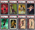Basketball Cards:Lots, 1996 - 2000 Multi-Brand Michael Jordan PSA Graded Collection (8)....