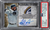 2020 Topps Major League Materials Platinum Fernando Tatis Jr. Jersey Patch Autograph #MLMA-FTJ PSA MINT 9 - Auto Gem Min...