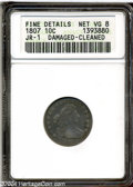 Early Dimes: , 1807 10C --Damaged, Cleaned--ANACS. Fine Details, Net VG8. ...