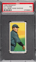 Baseball Cards:Singles (Pre-1930), 1909-11 T206 Piedmont 150 Cy Young (Bare Hand Shows) PSA NM 7. ...