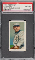 Baseball Cards:Singles (Pre-1930), 1909-11 T206 Piedmont 350 Cy Young (Glove Shows) PSA EX-MT 6. ...