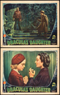 """Movie Posters:Horror, Dracula's Daughter (Universal, 1936). Fine/Very Fine. Lobby Cards (2) (11"""" X 14"""").. ... (Total: 2 Items)"""