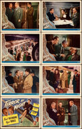 """Movie Posters:Mystery, Terror by Night (Universal, 1946). Very Fine+. Lobby Card Set of 8 (11"""" X 14"""").. ... (Total: 8 Items)"""