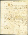 Obsoletes By State:New Hampshire, Portsmouth, NH - Maritime Instructions to Captain Parrott. Sept. 26, 1803. Not graded.. ...