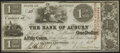 Obsoletes By State:Michigan, Clinton Salt Works, MI- Bank of Auburn $1.50 May 1, 1838 Very Fine-Extremely Fine.. ...