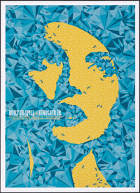 Built to Spill and Dinosaur Jr. at The Granada Theater (DL Screenprinting, 2009). Rolled, Very Fine+. Signed and Hand Nu...
