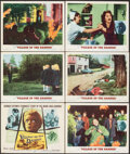 """Movie Posters:Science Fiction, Village of the Damned (MGM, 1960). Very Fine-. Title Lobby Card & Lobby Cards (5) (11"""" X 14""""). Science Fiction.. ... (Total: 6 Items)"""