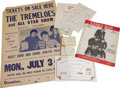 "Music Memorabilia:Autographs and Signed Items, The Tremeloes Memorabilia Group. Includes autographs from all four band members, vintage sheet music for the song ""Candy Man..."
