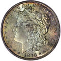 Morgan Dollars: , 1878 8TF $1 MS67 PCGS. VAM-14.3. In early 1878, the Morgan dollarswere issued with eight tai...