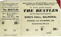 Music Memorabilia:Tickets, Beatles King's Hall Concert Ticket. An used ticket from their November 2, 1964, performance at King's Hall in Belfast, Irela...