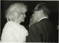 Movie/TV Memorabilia:Photos, Marilyn Monroe Picture and Negative. Jack Benny was the host of the Madison Square Garden birthday celebration for JFK in 19...