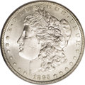Morgan Dollars: , 1893-S $1 MS63 PCGS. Ex: Jackson Hole. Brilliant and sharply struckwith satiny silver luster...