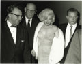"Movie/TV Memorabilia:Photos, Marilyn Monroe Picture and Negative. This Irv Steinberg pictureshows Marilyn and her ""entourage"" departing Madison Square G..."