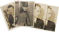 Autographed Pictures of Conrad Nagel, Robert Montgomery, and James Murray. Three MGM stars get the full studio glamour t...