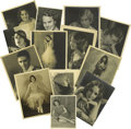 """Movie/TV Memorabilia:Memorabilia, Early Hollywood Star Photos Group Including Anna May Wong.Thisbaker's dozen lot contains ten 11"""" x 14"""" portraits (includin..."""