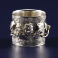 Silver Holloware, American:Napkin Rings, An American Silver Napkin Ring. Unknown maker, American. Circa1890-1910. Silver. Marks: STERLING. 1.625 inches high x...