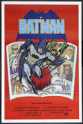 "Movie Posters:Action, Batman (20th Century Fox, R-1989). Spanish Language One Sheet (27""X 41""). Comic Book Action. Starring Adam West, Burt Ward,..."
