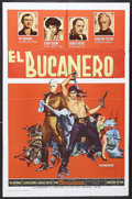 "Movie Posters:Adventure, The Buccaneer (Paramount, 1958). One Sheet (27"" X 41""). Adventure.Starring Yul Brynner, Charlton Heston, Claire Bloom, Char..."