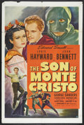 """Movie Posters:Adventure, The Son of Monte Cristo (United Artists, 1940). One Sheet (27"""" X41""""). Action Adventure. Starring Louis Hayward, Joan Bennet..."""