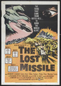 "Movie Posters:Science Fiction, The Lost Missile (United Artists, 1958). One Sheet (27"" X 41""). Science Fiction. Starring Robert Loggia, Larry Kerr, Ellen P..."