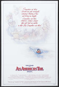 "Movie Posters:Animated, An American Tail (Universal, 1986). One Sheet (27"" X 41"") Style B.""Secret of NIMH"" director Don Bluth guides this delightfu..."