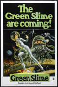 "Movie Posters:Science Fiction, The Green Slime (MGM, 1969). One Sheet (27"" X 41""). Science FictionHorror. Starring Robert Horton, Luciana Paluzzi, Richard..."