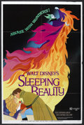 "Movie Posters:Animated, Sleeping Beauty (Buena Vista, R-1970). One Sheet (27"" X 41"") Style A. Animation. Starring Mary Costa, Bill Shirley, Eleanor ..."