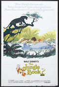 "Movie Posters:Animated, The Jungle Book (Buena Vista, R-1978). One Sheet (27"" X 41""). Animated. Starring the voices of Phil Harris, Sebastian Cabot,..."