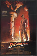 "Movie Posters:Adventure, Indiana Jones and the Temple of Doom (Paramount, 1984). One Sheet(27"" X 41""). Adventure. Starring Harrison Ford, Kate Capsh..."