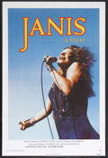 "Movie Posters:Documentary, Janis (Universal, 1975). One Sheet (27"" X 41""). Biography/Documentary. This fun and sometimes moving documentary offers up a..."