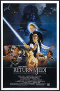 "Movie Posters:Science Fiction, Return of the Jedi (20th Century Fox, 1983). One Sheet (27"" X 41"") Style B. Science Fiction Adventure. Starring Mark Hamill,..."