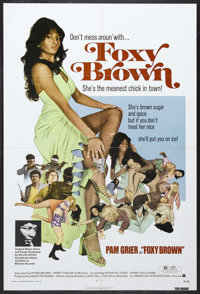 "Foxy Brown (AIP, 1974). One Sheet (27"" X 41""). Action. Starring Pam Grier, Peter Brown, Terry Carter, Kathryn..."
