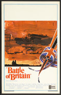 "Movie Posters:War, Battle of Britain (United Artists, 1969). Window Card (14"" X 22"").War. Starring Michael Caine, Trevor Howard, Curt Jurgens,..."