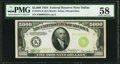 Small Size:Federal Reserve Notes, Fr. 2221-K $5,000 1934 Federal Reserve Note. PMG Choice About Unc 58.. ...
