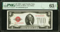 Small Size:Legal Tender Notes, $2 and $5 Legal Tender Notes. . ... (Total: 10 notes)