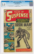 Silver Age (1956-1969):Superhero, Tales of Suspense #39 (Marvel, 1963) CGC GD+ 2.5 Cream to off-white pages....