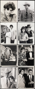 """Movie Posters:Drama, Dallas (CBS, 1978-1986). Very Fine+. Color Television Photo & Television Photos (21) (Approx. 7"""" X 9"""" & 7"""" X 9.5""""). Drama.. ... (Total: 22 Items)"""