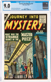 Journey Into Mystery #27 (Marvel, 1955) CGC VF/NM 9.0 Cream to off-white pages